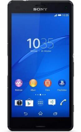 Sony Xperia Z3 Compact schwarz