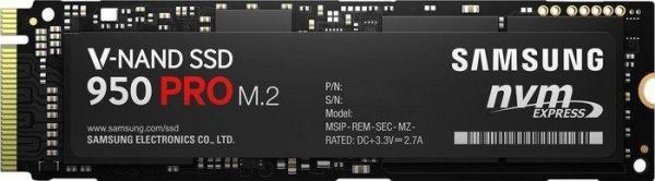 Samsung SSD 950 Pro 512GB, M.2 (MZ-V5P512BW)