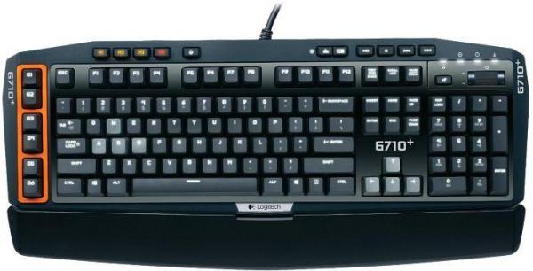 Logitech G710+ Gaming Keyboard, USB, DE (920-003888/920-005700)