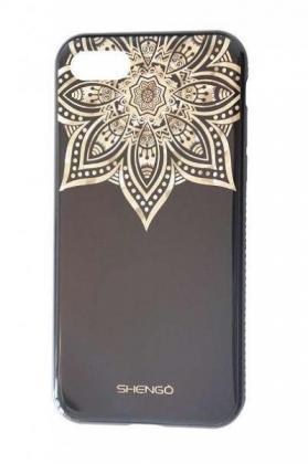 Hülle iPhone7 mit Glitzersteinen luxus elegant