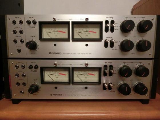 Rarität Pioneer Tonbandgerät RT-2044 / 2022, RTU 11 + 2 x TAU 11 toller Zustand