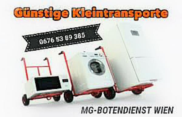 KLEINTRANSPORTE vom Karton bis zur Waschmaschine!