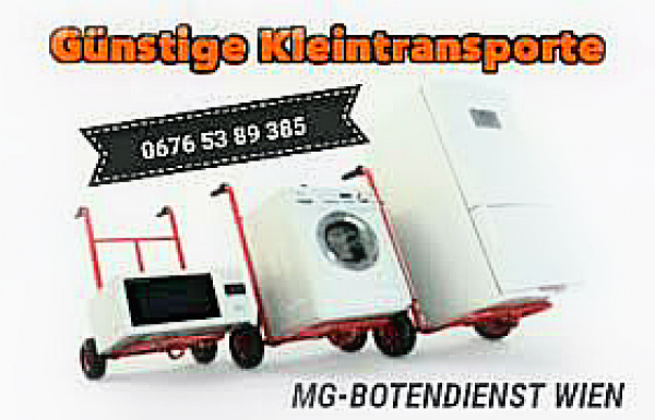 MG-Botendienst | Transport für alle Lebenslagen!