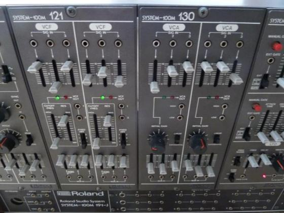 Roland System 100M, 240V-Version, D-Set