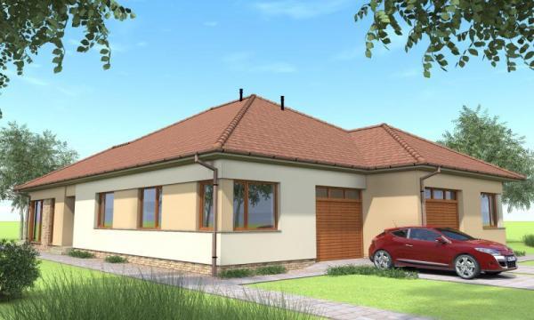 In Sopron und Győr, in Pereszteg in der Nähe des Fertő-Sees, in einem schönen neuen Wohnpark zum Verkauf in Doppelhäusern!