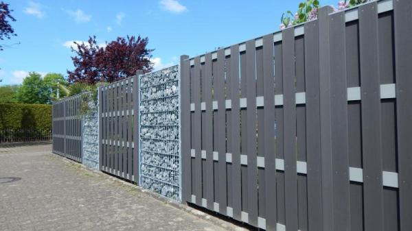 WPC Sichtschutzzäune und WPC-Zaun sowie Bretterzäune günstig