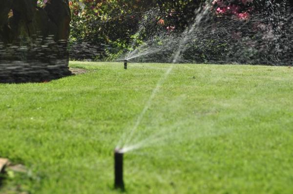 Bewässerungssystems für Garten