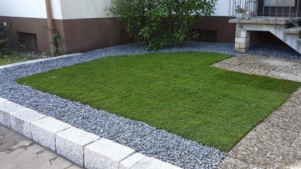 Neugestaltung Garten