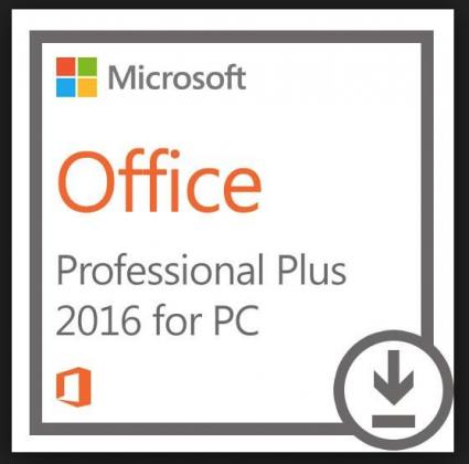 Microsoft Office 2016 Pro Plus ; 32 & 64 Bit ; Retail ; Single Key ; Online Activation ; Händler ; Rechnung