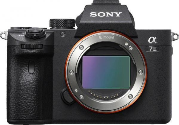 Sony Alpha 7 III schwarz Gehäuse (ILCE-7M3)