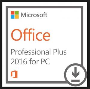 Microsoft Office 2016 Pro Plus ; 32 & 64 Bit ; Retail ; Single Key ; Online Activation ; Händler ;