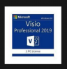 MICROSOFT Visio 2019 Professional / 1 PC / Express E mail Versand / Download Version / Retail