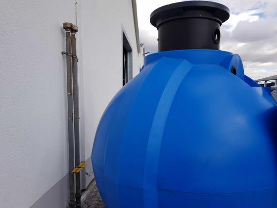 Regenwassersammelsystem