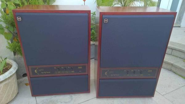 2 x Tannoy SRM Super Red Monitor 15