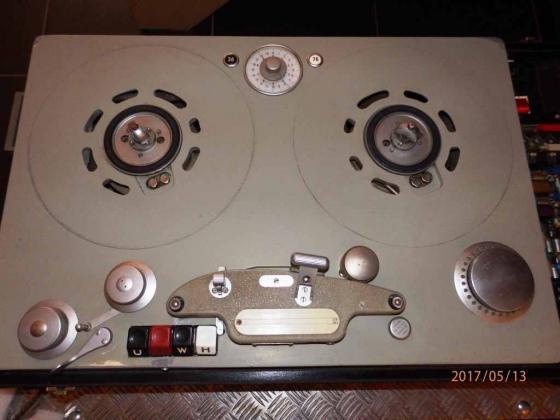 Broadcast TELEFUNKEN T9u Magnetophon 38/76 2-Kanal mit MWA ATS NF-Elektronik