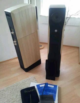 Chario Sovran High-End Lautsprecher mit Originalverpackung