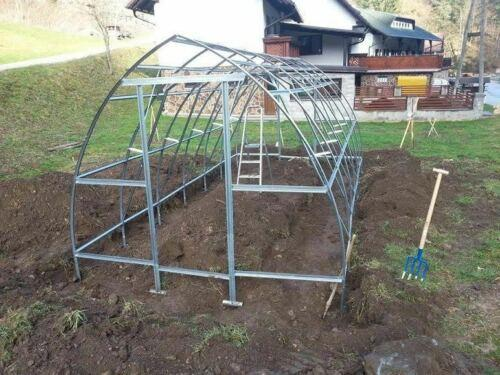 Gewächshaus Volya ® Modell THERMO STRELKA 3 m