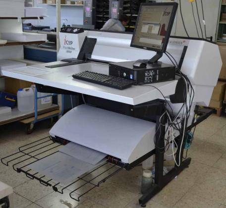 iCtP-System Glunz&Jensen PlateWriter 3000