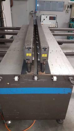 Wegener  SM 305 Stumpfschweißmaschine für Kunststofftafeln