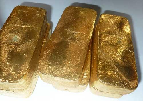 ALLUVIAL GOLD DORE BARS ZU VERKAUFEN