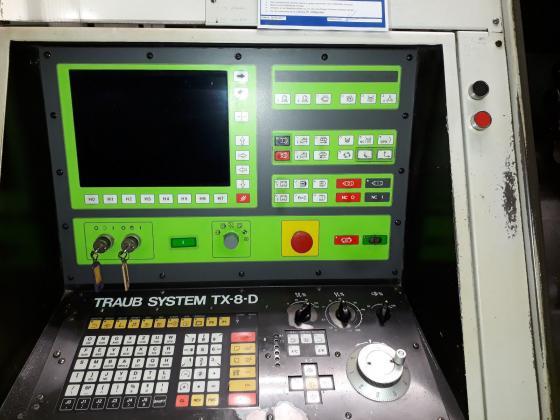 CNC Drehmaschine Traub TNS 65 D