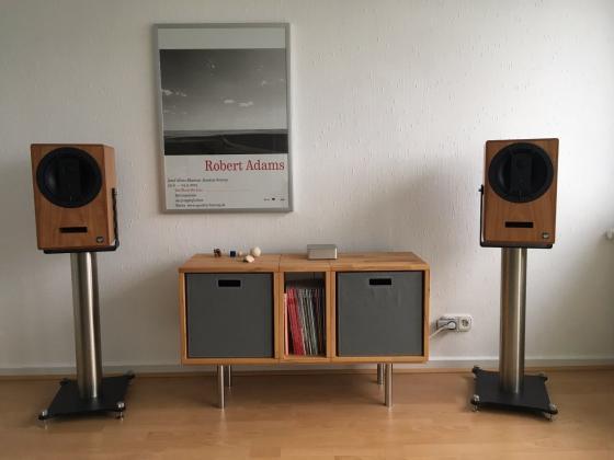 ME Geithain RL 940 Studiomonitore  incl. Gabelständer von Liedtke Metalldesign