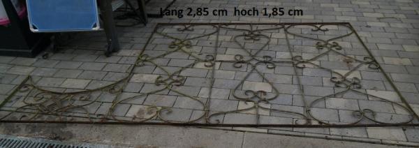 Schmiedeeisen Gitter   als Raumteiler oder  Terasse  oder Zierde