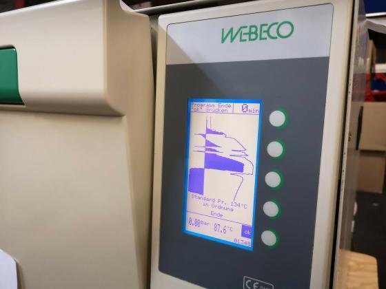 Webeco Class B 20L Dampf Sterilisatoren Autoklav Steam