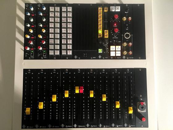 Neumann Mastering Konsole W492 EQ / V475 Summenverstärker