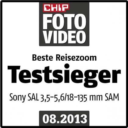 Sony SAL-18135, Zoom-Objektiv (18-135 mm, F3,5–5,6 SAM) Neu und Original verpackt! Statt 470€