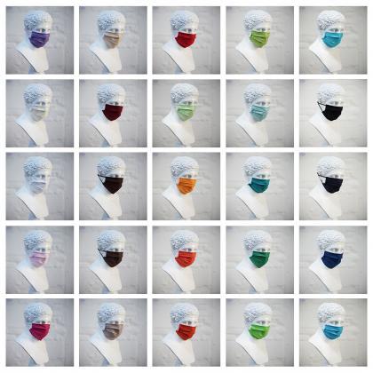 ATMASKE.AT  Mund-Nasen-Masken / mit LOGO / Eigendesign/ 25+ Farben