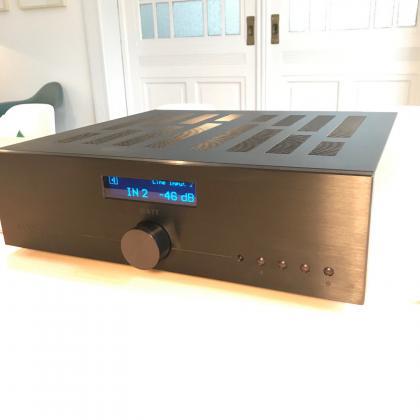 Audionet WATT Vollverstärker Testgerät STEREO 100/100 schwarz - wie neu