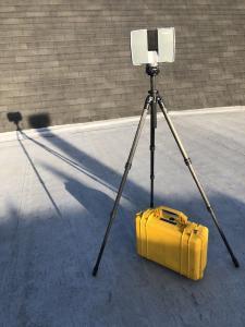 TX5-Laserscanner von Trimble (Faro) mit Gitzo-Stativ
