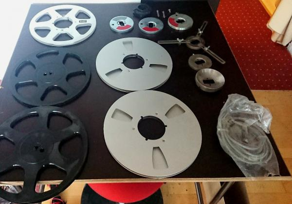 AEG Telefunken M21 Tonbandgerät / Tape Recorder, Top Zustand, incl. Zubehör