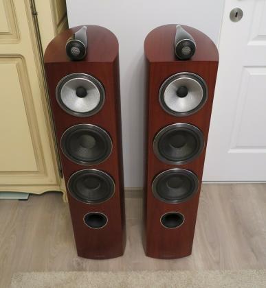 Bowers & Wilkins (B&W) 804 D3 Loudspeakers (Rosewood)