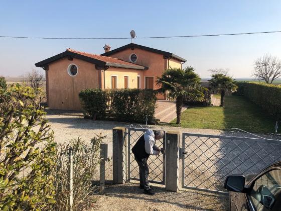 Bungalow nahe CAORLE, ITALIEN, laendliche Umgebung