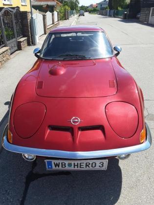 Oldtimer Opel Gt