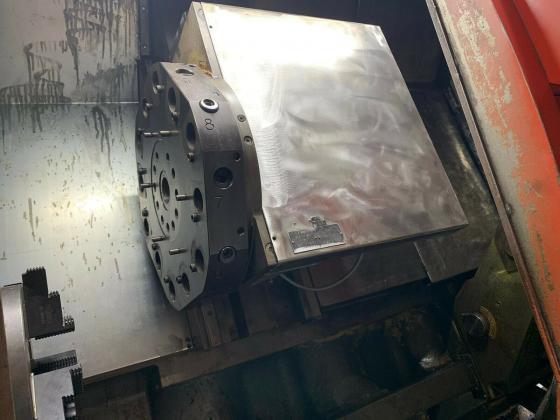 CNC Drehmaschine, GILDEMEISTER CTX 500, Angetribene Werkzeuge, C-Achse