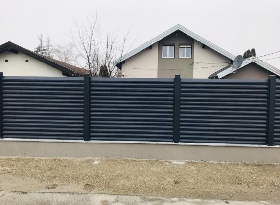 Sichtschutz Zaun aus Aluminium zu günstigen Preisen