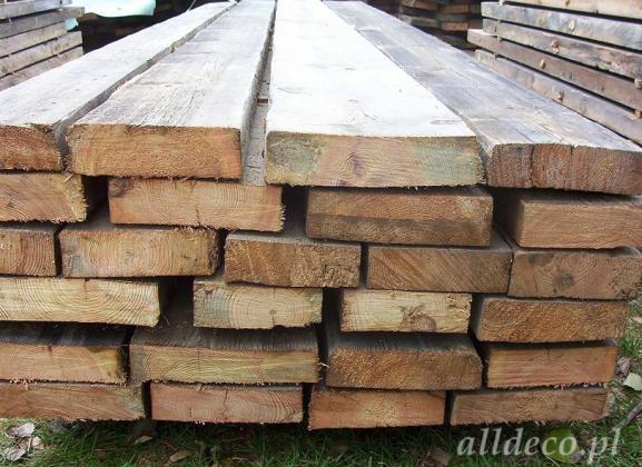 Alte Blockwände ideal für Platten