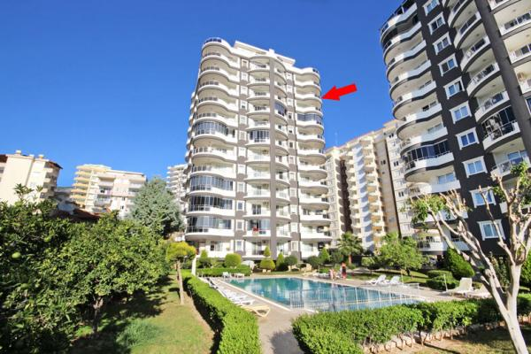 Attraktives Apartment in einer ruhigen Lage in Mahmutlar-Alanya