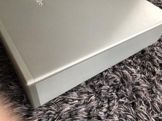 EMM Labs DAC2X SE High End D/A Wandler in Silber Top