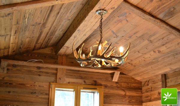 Schöne alte Schalbretter - Schönheit der Natur in Ihrem Zuhause