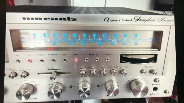 Marantz Receiver Model 2600 vintage