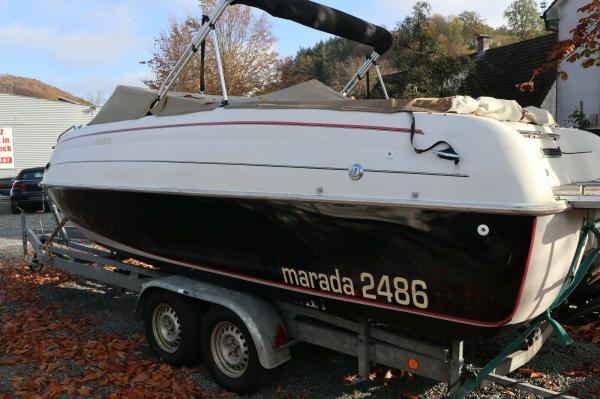 Sportboot Marada/Mariah 25 fuss bj 2001 es 2005 trailer mit tüv