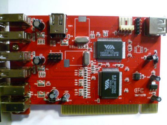 VIA PCI 5 Port USB & 3 Port & LAN  Nr.84