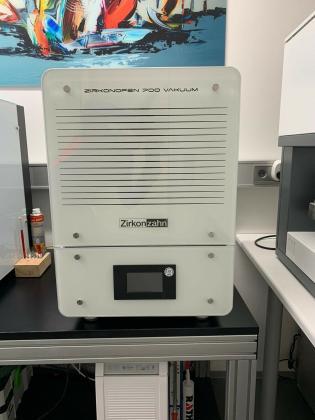 Zahntechnik Zirkon Ofen Oven V 700 Vakuum Zirkonzahn