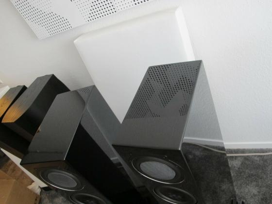 Elac FS 507 VX-Jet High End Standlautsprecher in Hochglanz schwarz Top