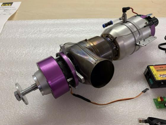 JetCat SPT-5 Turboprop