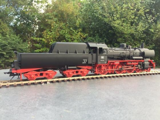 Lenz Spur 0 40238-01 Dampflok BR 38 Wannentender